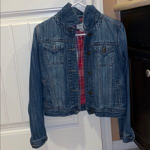 F21 Cropped denim jacket